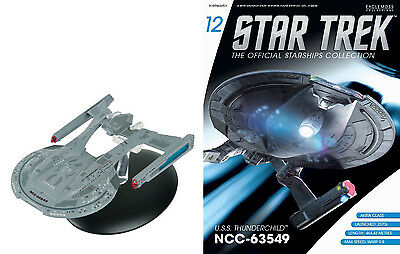 STAR TREK Official Starships Magazine #12 USS Thunderchild Akira Class Eaglemoss