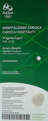 VIP TICKET Hospitality 12.8.2016 Olympia Rio Athletics Leichtathletik 9:30