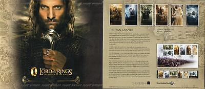 Nz 2003 Lord Of The Rings, Return Of The King Pack Présentation