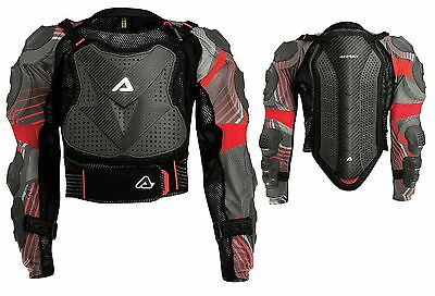 Pettorina Moto Cross Enduro Acerbis Scudo Ce 2.0 Body Armour S/m