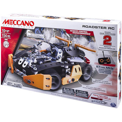 MECCANO Sports Roadster RC - Remote Control Car Kit - Spinmaster 6028127