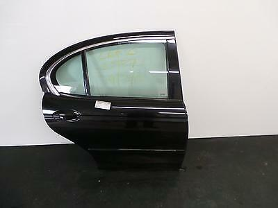 2003 JAGUAR X TYPE 4 Door Saloon Black O/S Drivers Right Rear Door