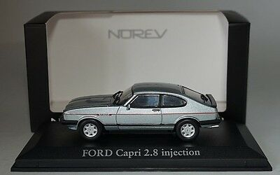 NOREV 270561 FORD CAPRI 2.8 INJ.1984 ARCTIC BLUE in 1:43 scale