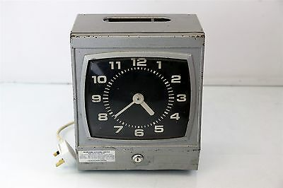 Vintage Clocking In Machine, BLINK TIME SYSTEM