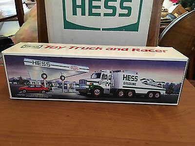 New Fresh From Cases Never Opened 1 1988 Hess Truck And Racer Hong Kong MIB