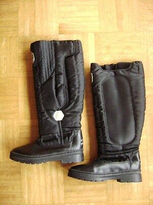 @ Equipage @ great lined Riding boots Touch fastener Size 38 CM 23,7 like new