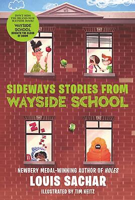 Sideways Stories from Wayside School by Louis Sachar (English) Paperback Book Fr