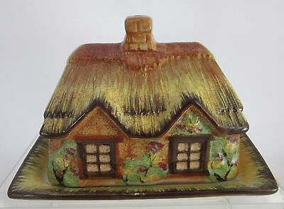 Occupied Japan COTTAGE WARE Butter Dish With Lid