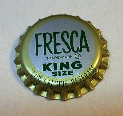"Vintage Fresca ""King Size""..cork..unused..Soda Bottle Cap"