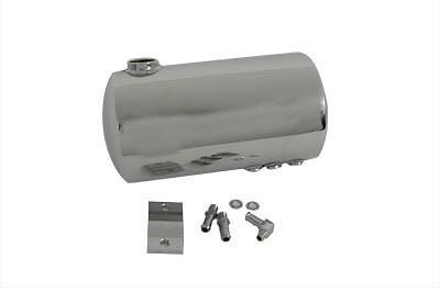 Round Oil Tank Chrome, EA,for Harley Davidson motorcycles,by V-Twin