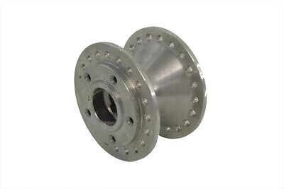 Satin Front Wheel Hub, EA,for Harley Davidson motorcycles,by V-Twin