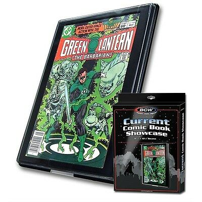3 New Current Comic Showcases Display Case Wall Mount Display Frame BCW