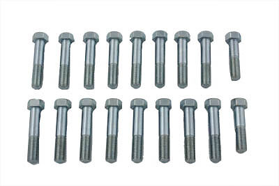Indian Chief Aluminum Head Bolt Set, KIT,for Harley Davidson motorcycles,by V-Tw