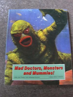 Mad Doctors Monsters And Mummies Colour Posters Mint Condition