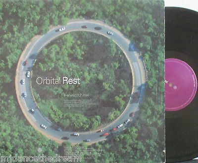 "ORBITAL ~ Frenetic ~ 12"" Single PS"