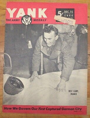 Military Related Magazine:  Yank - Dec 15, 1944 - PT Boats in the Philippines