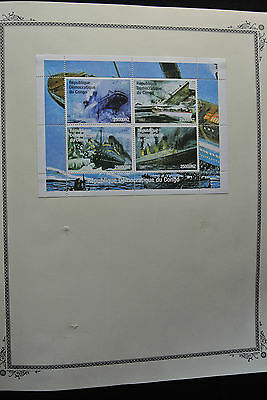 Lot 26226 Collection stamps of Republic of Congo 1997-2003.