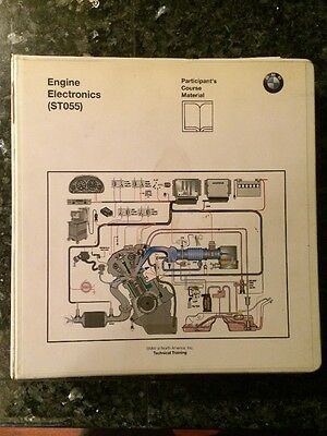 BMW Engine Electronics ST055 Participants Course Material Binder