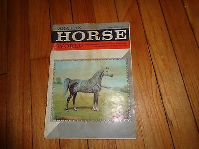 Arabian Horse World Magazine Lot Ten Issues from 1966