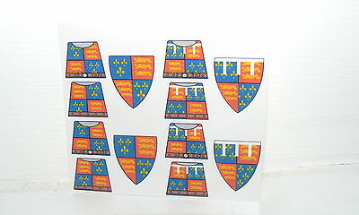NEW Custom stickers for lego castle kingdoms KNIGHTS - english medieval knight