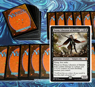 mtg BLACK VAMPIRE DECK Magic the Gathering rare cards drana BFZ