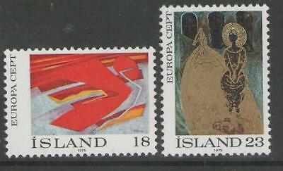 Iceland Sg533/4 1975 Europa Mnh