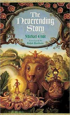 The Neverending Story by Michael Ende (English) Paperback Book Free Shipping!