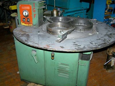 "LAPMASTER Model 24 Precision Flat Lapping Machine, 24"" Plate Diameter, 3 Rings"