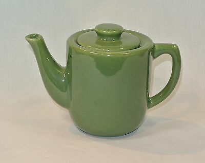 BAUER Pottery MONTEREY MODERNE Olive Green Individual TEAPOT