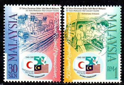MALAYSIA MNH 1998 The 50th Anniversary of Malaysian Red Crescent Society