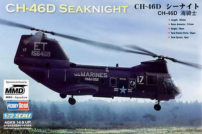 NEW Hobby Boss 1/72 CH-46 Sea Knight American HY87213