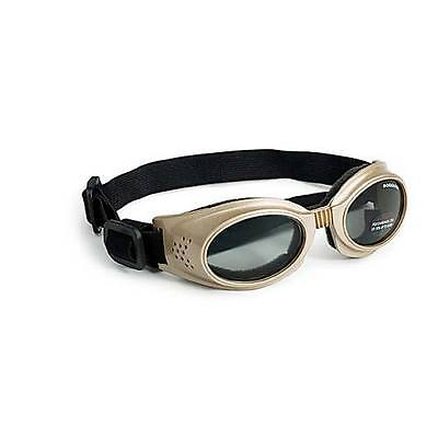 Doggles Originalz Dog Sunglasses Large Chrome / Smoke DGORLG16
