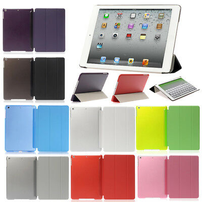 Ultra Thin Flip Magnetic Smart Case Back Cover For Apple iPad 2 3 4 5 6 Mini