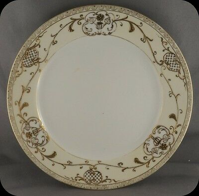"Vintage Noritake M mark 7 1/2"" Teaplate Tea Plate Heavy Gold (Five available)"