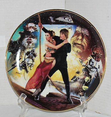 Star Wars Trilogy Return of the Jedi Limited Edition Collector Plate