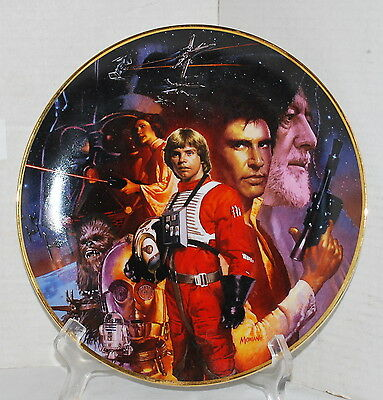 Star Wars Trilogy Star Wars Limited Edition Collector Plate