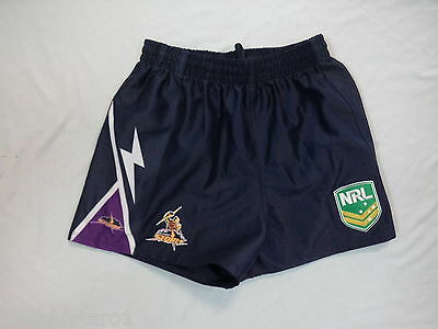 #ww.  Melbourne  Storm  Nrl  Rugby League  Supporter  Shorts