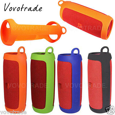 Silicone EVA Cover strap Case Bag Protect For JBL Charge 3 Bluetooth Speaker