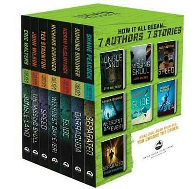 The Seven Prequels Boxed Set (English) Paperback Book Free Shipping!