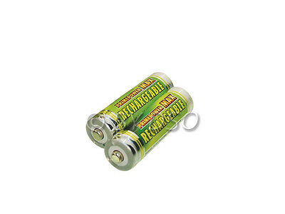 Primepower AA Max Strength Rechargeable Batteries 800mAh Ni-Mh 2 Pack