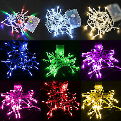 40 LED /4M Christmas Fairy Lamp AA Battery Operated  String Light DIY Decoration