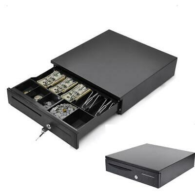 Cash Register Drawer Box 5 Bill 5 Coin Tray Compatible Works w/POS Printers RJ11