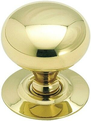 Amerock BP543 Allison Cabinet Knob With Backplate, Polished Brass