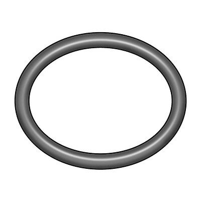 1RHZ8 O-Ring, Buna-N, 4mm IDx7mm OD, PK 100