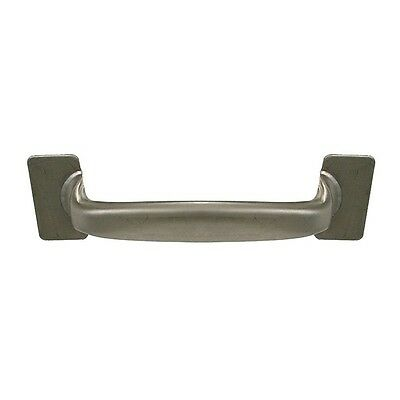 PH-0273 PullHandle, 304SS, Silver, Dull, Weld-on