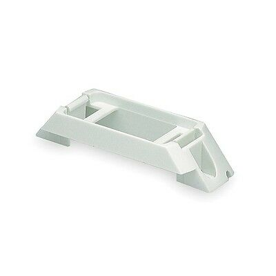 43370 Bracket, Polycarbonate, 4 19/64Lx1W In