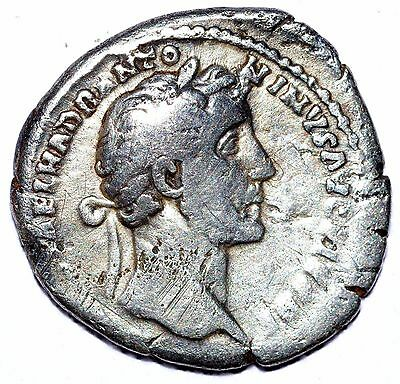 AUTHENTIC ANTONINUS PIUS, AR Silver Denarius - ROMAN COIN, COS III - C269