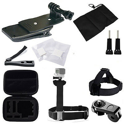 21-In-1 Mountaineer Accessory Kit Set For GoPro Hero 4 3+ 3 2 1 Camera