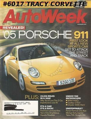 May 17 2004 Autoweek 1920 Locomobile Model 48 Sportif 2005 Porsche 911 Penske