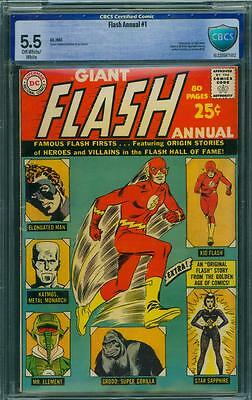 Flash Annual 1 Cbcs 5.5 - Ow/w Pages
